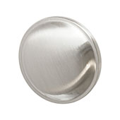Amerock Allison Collection (1-1/4'' Dia.) Round Knob, Satin Nickel, 32mm Diameter