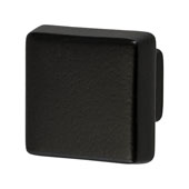 Amerock Blackrock Collection (1-1/2''W) Square Knob, Black Bronze, 38mm W x 38mm D x 33mm H