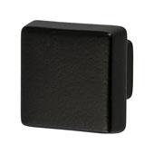Amerock Blackrock Collection (1-1/2''W) Square Knob, Black Bronze, 38mm W x 38mm D x 33mm H