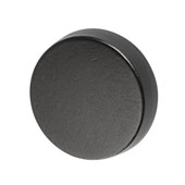 Amerock Blackrock Collection (1-2/7'' Dia.) Round Knob, Black Bronze, 33mm Diameter