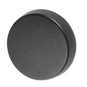Design Deco Series Amerock Blackrock Collection Zinc Round Knob in Black Bronze, 44mm Diameter x 33mm D (1-3/4'' Diameter x 1-5/16'' D)