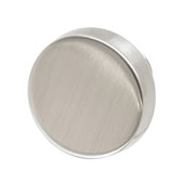 Amerock Blackrock Collection (1-2/7'' Dia.) Round Knob, Satin Nickel, 33mm Diameter