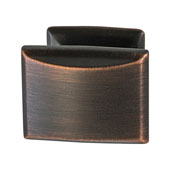 Amerock Candler Collection (1-1/4''W) Knob, Oil-Rubbed Bronze, 32mm W x 25mm D x 29mm H