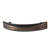 Amerock Extensity Collection (4-1/7''W) Handle, Oil-Rubbed Bronze, 105mm W x 17mm D x 33mm H, 76mm Center to Center