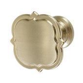 Amerock Grace Revitalize Collection (1-3/4'' Dia.) Knob, Golden Champagne, 44mm Diameter