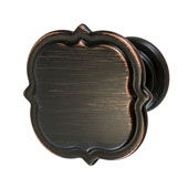 Amerock Grace Revitalize Collection (1-3/8'' Dia.) Knob, Oil-Rubbed Bronze, 35mm Diameter