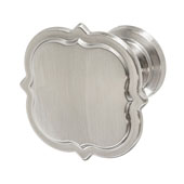 Amerock Grace Revitalize Collection (1-3/8'' Dia.) Knob, Satin Nickel, 35mm Diameter