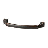 Amerock Revitalize Collection (5-5/8''W) Handle, Oil-Rubbed Bronze, 143mm W x 17mm D x 40mm H, 128mm Center to Center