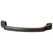 Amerock Revitalize Collection (6-4/5''W) Handle, Oil-Rubbed Bronze, 173mm W x 19mm D x 41mm H, 160mm Center to Center
