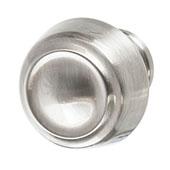 Amerock Kane Collection (1-1/6'' Dia.) Round Knob, Satin Nickel, 30mm Diameter