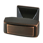 Amerock Mulholland Collection (1-1/4''W) Knob, Oil-Rubbed Bronze, 32mm W x 21mm D x 30mm H