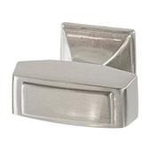 Amerock Mulholland Collection (1-1/4''W) Knob, Satin Nickel, 32mm W x 21mm D x 30mm H