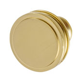 Amerock Oberon Collection (1-3/8'' Dia.) Round Knob, Golden Champagne, 35mm Diameter