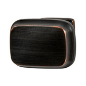 Amerock Revitalize Collection (1-1/4''W) Knob, Oil-Rubbed Bronze, 32mm W x 22mm D x 30mm H