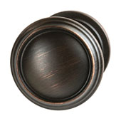 Amerock Revitalize Collection (1-1/4'' Dia.) Round Knob, Oil-Rubbed Bronze, 32mm Diameter
