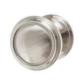 Amerock Revitalize Collection (1-1/4'' Dia.) Round Knob, Satin Nickel, 32mm Diameter
