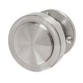 Amerock Rochdale Collection (1-1/4'' Dia.) Round Knob, Satin Nickel, 32mm Diameter