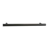Amerock Collection (15-3/4''W) Bar Pull, Gunmetal, 400mm W x 13mm D x 35mm H, 320mm Center to Center