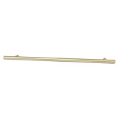 Amerock Collection (15-3/4''W) Bar Pull, Golden Champagne, 400mm W x 13mm D x 35mm H, 320mm Center to Center