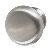 Amerock Essential'Z Collection (1-1/4'' Dia.) Round Knob, Matt Nickel, 32mm Diameter