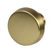 Amerock Blackrock Collection (1-2/7'' Dia.) Round Knob, Golden Champagne, 33mm Diameter