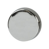 Amerock Blackrock Collection (1-2/7'' Dia.) Round Knob, Polished Nickel, 33mm Diameter
