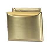 Amerock Candler Collection (1-1/4''W) Knob, Golden Champagne, 32mm W x 25mm D x 29mm H