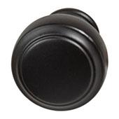 Amerock Highland Ridge Collection (1-1/6'' Dia.) Round Knob, Black Bronze, 30mm Diameter