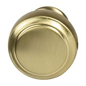 Amerock Highland Ridge Collection (1-1/6'' Dia.) Round Knob, Gold Champagne, 30mm Diameter