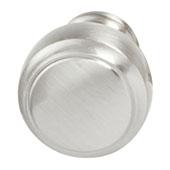 Amerock Highland Ridge Collection (1-1/6'' Dia.) Round Knob, Satin Nickel, 30mm Diameter
