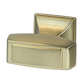 Amerock Mulholland Collection (1-1/4''W) Knob, Gold Champagne, 32mm W x 21mm D x 30mm H