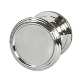 Amerock Revitalize Collection (1-1/4'' Dia.) Round Knob, Polished Nickel, 32mm Diameter