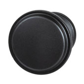 Amerock Westerly Collection (1-1/6'' Dia.) Round Knob, Black Bronze, 30mm Diameter