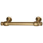 Design Deco Series Amerock Winsome Collection Zinc Handle in Champagne Bronze, 165mm W x 35mm D x 11mm H (6-1/2'' W x 1-3/8'' D x 7/16'' H), Center to Center: 128mm (5-1/16'')