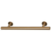 Design Deco Series Amerock Radius Collection Stainless Steel Handle in Champagne Bronze, 146mm W x 32mm D x 11mm H (5-3/4'' W x 1-1/4'' D x 7/16'' H), Center to Center: 96mm (3-3/4'')