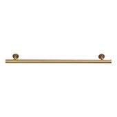 Design Deco Series Amerock Radius Collection Stainless Steel Handle in Champagne Bronze, 211mm W x 32mm D x 11mm H (8-5/16'' W x 1-1/4'' D x 7/16'' H), Center to Center: 160mm (6-5/16'')