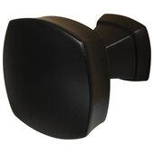 Design Deco Series Amerock Stature Collection Zinc Knob in Matte Black, 32mm W x 32mm D x 32mm H (1-1/4'' W x 1-1/4'' D x 1-1/4'' H)