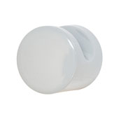 Hewi Collection Polyamide Knob in Stone Gray, 35mm Diameter x 30mm D