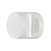 Hewi Collection Polyamide Knob in White, 35mm Diameter x 30mm D