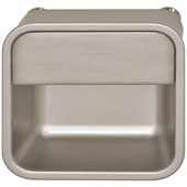 Lago di Como/Moda Collection Inset Pull in Stainless Steel, 52mm W x 14mm D x 52mm H