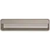 Collection Moda Collection Inset Handle in Stainless Steel, 193mm W x 14mm D x 51-1/2mm H