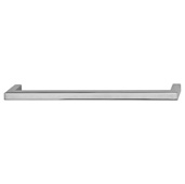 Cornerstone Series Vogue Collection (7-15/16'' W) Handle in Polished Chrome, 201mm W x 28mm D x 9mm H, Center to Center: 192mm  (7-9/16'')