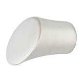 (1/2'' Dia.) Knob in Matt Nickel, 14mm Diameter x 26mm D x 9.8mm Base Diameter