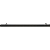 Cornerstone Series Cosmopolitan Collection (8-1/2'' W) Contemporary Bar Pull in Satin Bronzed Copper, 220mm W x 32mm D x 12mm H, Center to Center: 160mm (6-5/16'')