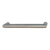Voyage Collection (6-15/16'' W) Handle in Matt Stainless Steel, 176mm W x 40mm D x 16 mm H, Center to Center: 160mm  (6-5/16'')