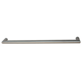 Cornerstone Series Voyage Collection (14-1/2'' W) Handle in Matt Stainless Steel, 368mm W x 40 mm D x 16 mm H (Appliance Pull), Center to Center: 352mm (13-7/8'')