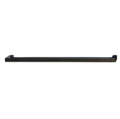 Cornerstone Series Vogue Collection (9-3/16'' W) Handle in Matt Black, 233mm W x 28mm D x 9mm H, Center to Center: 224mm  (9'')