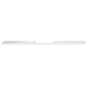 Design Deco Series Neoteric Collection Aluminum Center Pull Handle in Polished Chrome, 300mm W x 30mm D x 7mm H (11-13/16'' W x 1-3/16'' D x 1/4'' H), Center to Center: 224mm (8-13/16'')