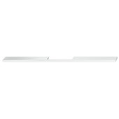Design Deco Series Neoteric Collection Aluminum Center Pull Handle in Polished Chrome, 350mm W x 30mm D x 7mm H (13-3/4'' W x 1-3/16'' D x 1/4'' H), Center to Center: 256mm (10-1/16'')