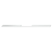 Design Deco Series Neoteric Collection Aluminum Center Pull Handle in Polished Chrome, 400mm W x 30mm D x 7mm H (15-3/4'' W x 1-3/16'' D x 1/4'' H), Center to Center: 320mm (12-5/8'')